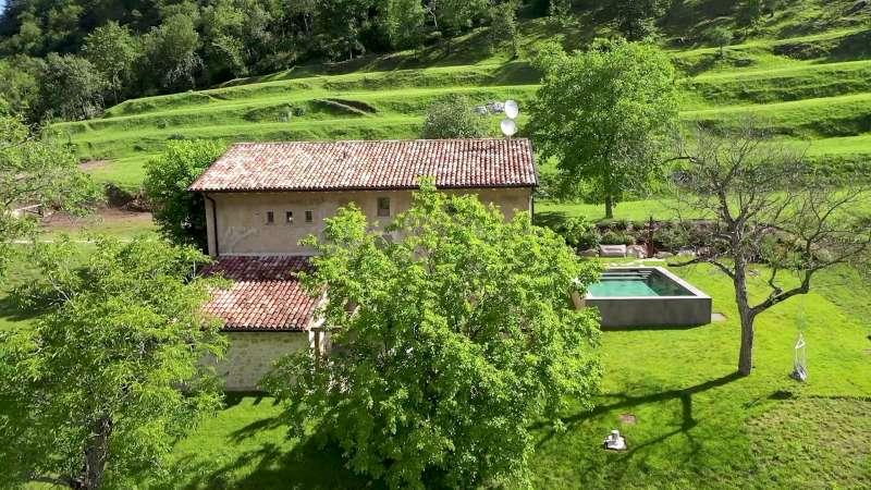 Villa vacanze lago di Garda Lake Relais Gargnano - Veduta dall'alto della tenuta