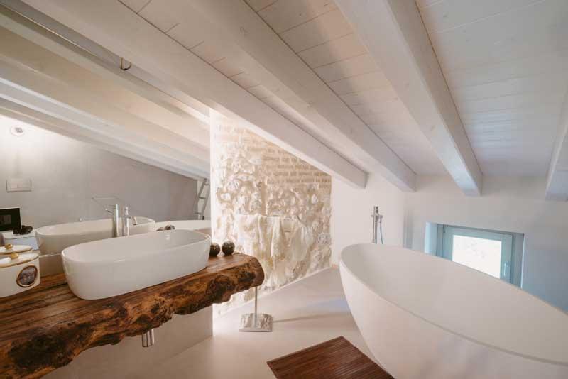 Villa vacanze lago di Garda Lake Relais Gargnano  - Bagno