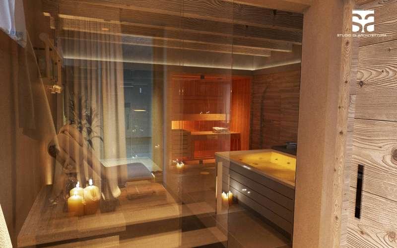SPA privata, doccia emozionale e sauna - Villa Vacanze Lake Relais Gargnano