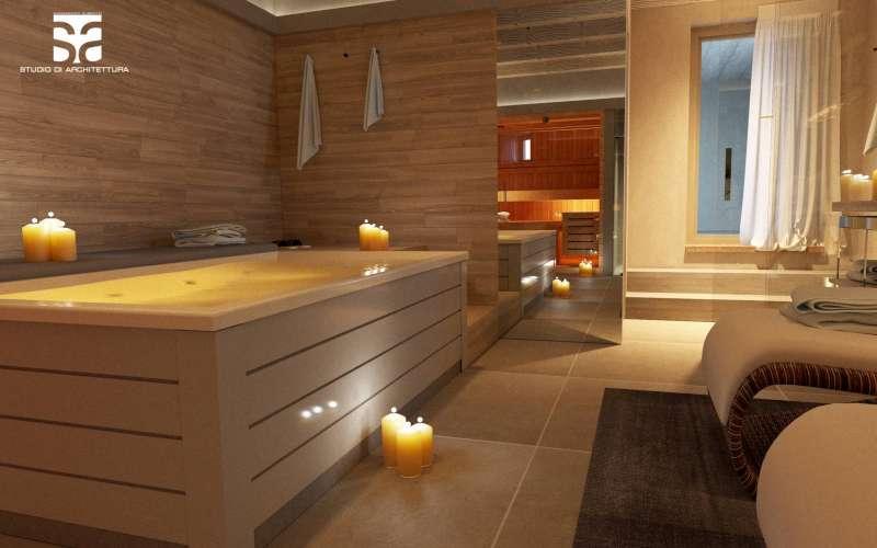 SPA privata, vasca idromassaggio e sauna - Villa Vacanze Lake Relais Gargnano