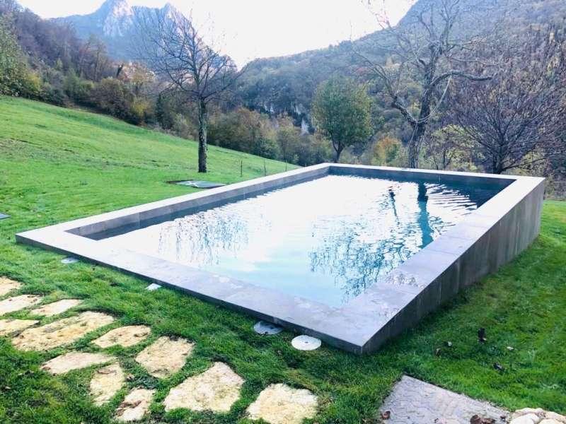 Piscina esterna riscaldata del Lake Relais Gargnano