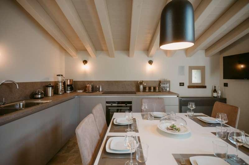 Villa vacanze lago di Garda Lake Relais Gargnano - Cucina